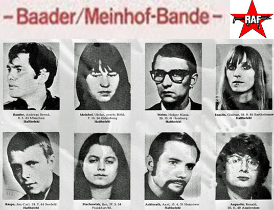 The Murder Of The Baader-Meinhof Gang By Giovanni Di Stefano – Opc ...